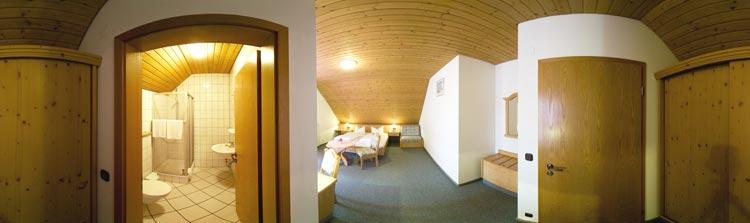 Gasthof Meier -Zimmer/Bad-